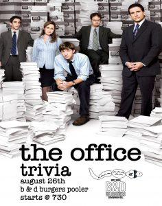 The Office Trivia @ Pooler
